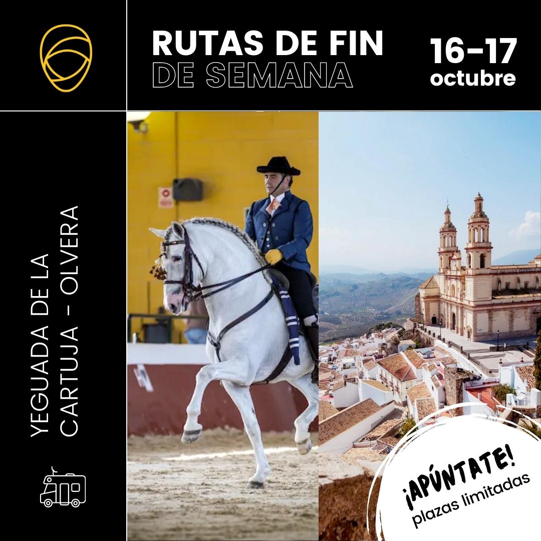 Ruta Yeguada de la Cartuja – Olvera (16-17 Octubre)